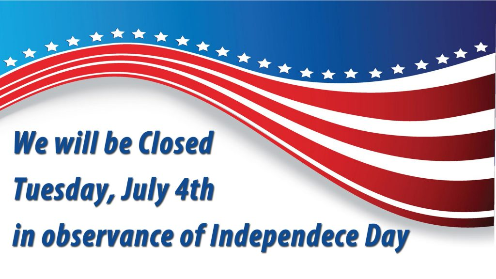 Closed July 4th Edgewood Locker