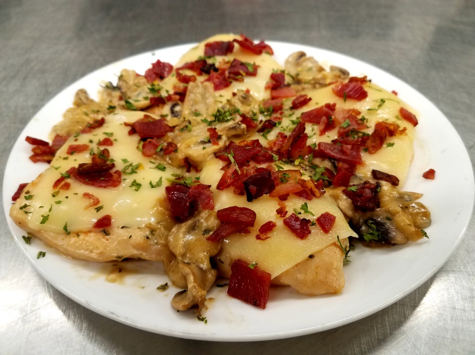 Bacon Swiss Cheese Chicken  #FoodFriday